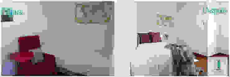 Amika Homes Mediterranean style bedroom