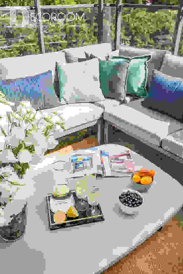 Mediterranean style balcony, veranda & terrace by Decoroom Mediterranean