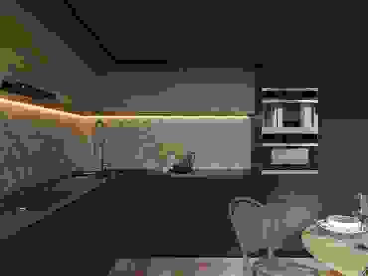 Cucina moderna di Дизайн-студия 'Вердиз' Moderno