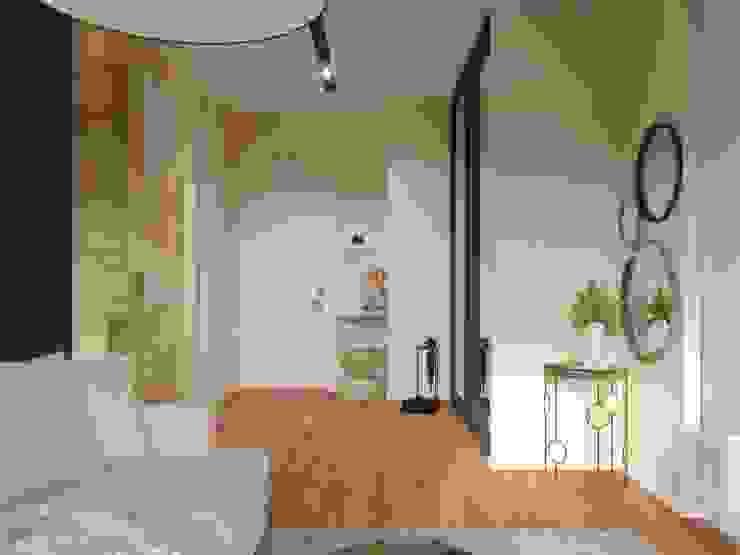 Ingresso, Corridoio & Scale in stile moderno di Дизайн-студия 'Вердиз' Moderno