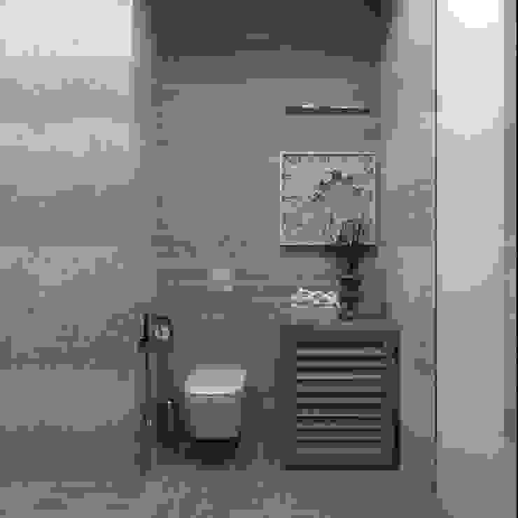 Bagno moderno di Дизайн-студия 'Вердиз' Moderno