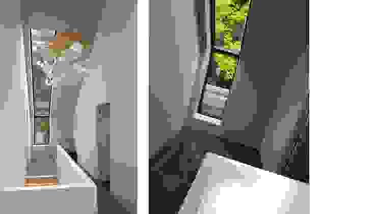 Corridor & hallway by TS architecten BV