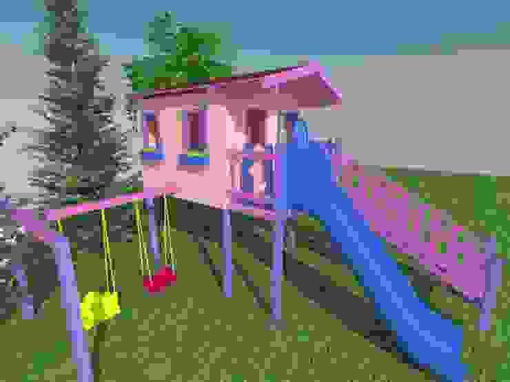 Ağaç Ev Projesi Kırsal Bahçe Bersa İç ve Dış Ticaret Ltd. Şti. Kırsal/Country Ahşap Ahşap rengi