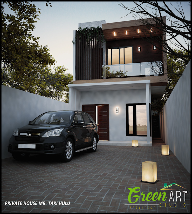 Mr Tari Hulu Private House Oleh GreenArt Studio