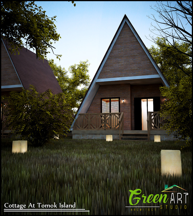Cottage Tomok Island Oleh GreenArt Studio