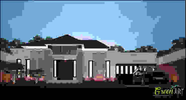 Private House Rantau Prapat Oleh GreenArt Studio