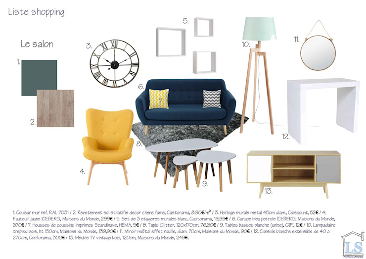 Homestaging 3d par LSAI Scandinave