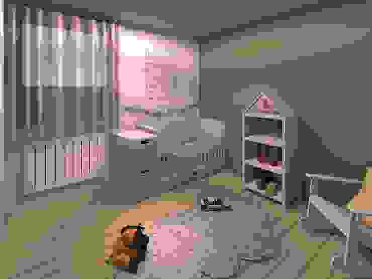 Phòng trẻ em phong cách Bắc Âu bởi LSAI Bắc Âu