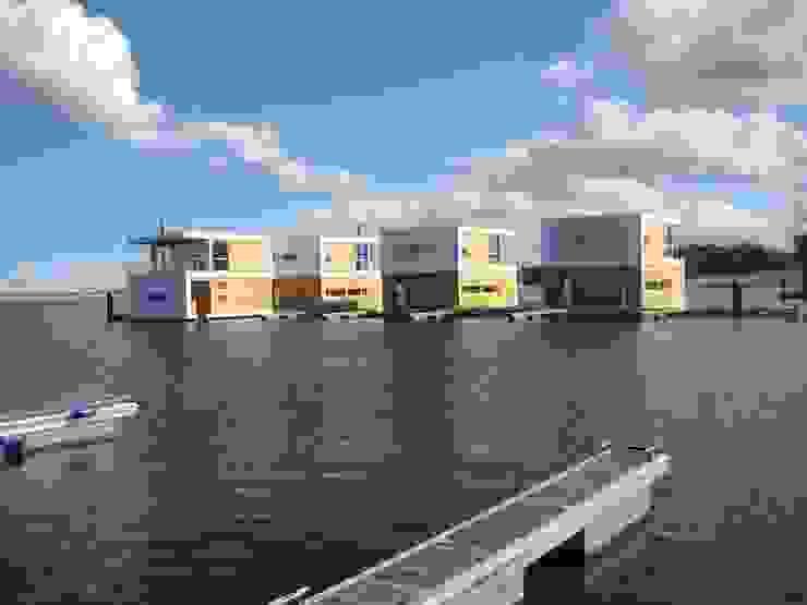 floating architecture - WKH 100 büro13 architekten Moderne Häuser