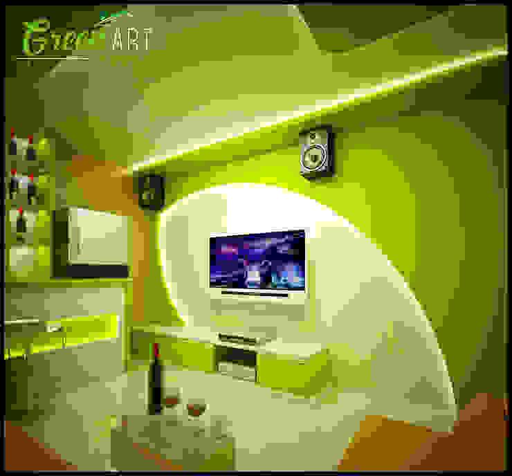 Ruang Karaoke Pribadi Pekanbaru Oleh GreenArt Studio