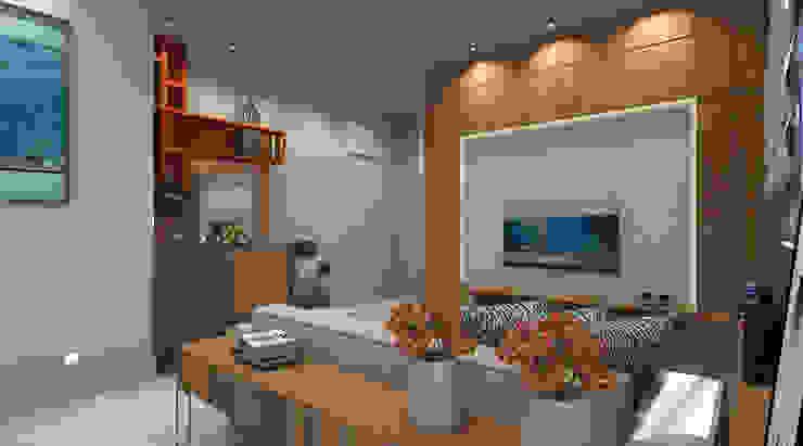 Moderne Wohnzimmer von Espaco AU Modern