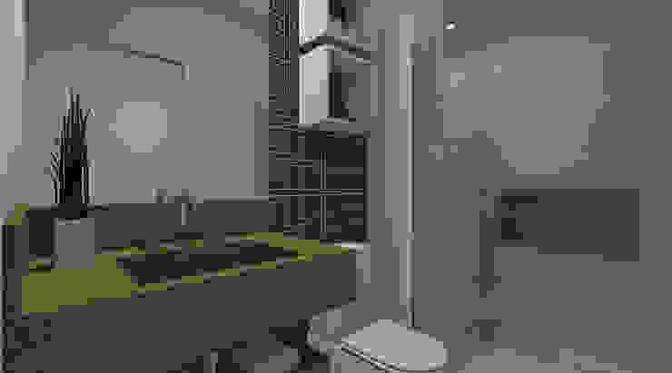 Moderne Badezimmer von Espaco AU Modern