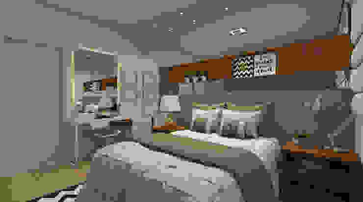Moderne Schlafzimmer von Espaco AU Modern