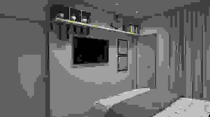 Espaço AU Modern style bedroom