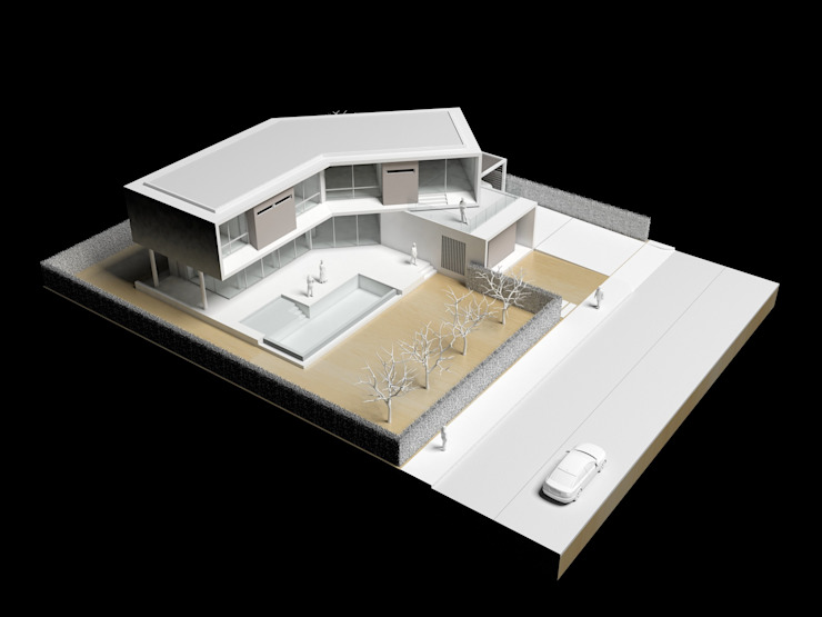Modelo Casas de estilo minimalista de del castillo schiffino | dCS* Minimalista