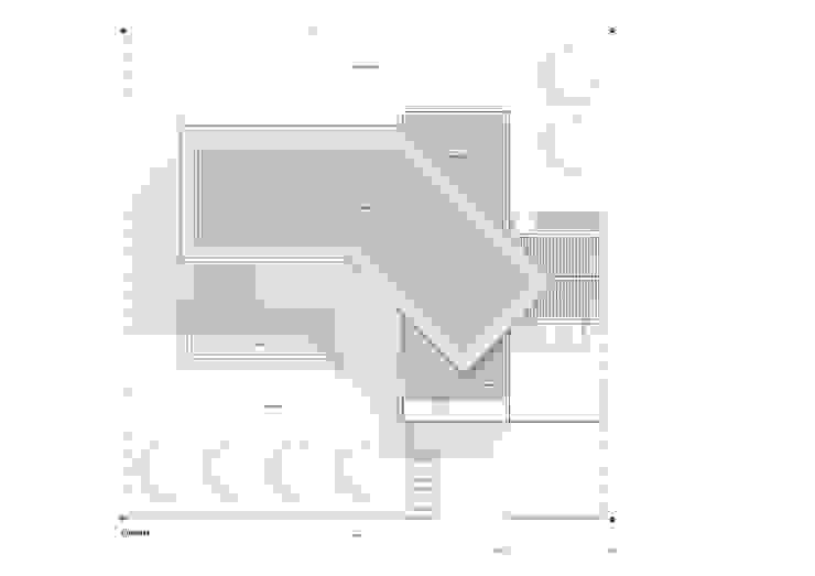 Cubiertas Casas de estilo minimalista de del castillo schiffino | dCS* Minimalista