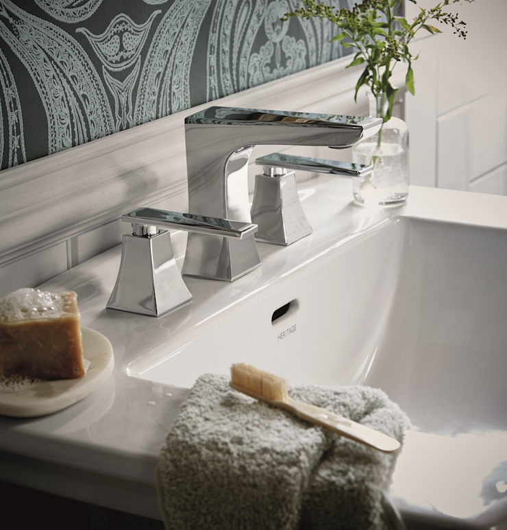 Hemsby taps Classic style bathroom by Heritage Bathrooms Classic