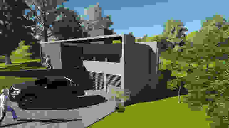 Vivienda Unifamiliar Casas minimalistas de PEI arquitectura Minimalista