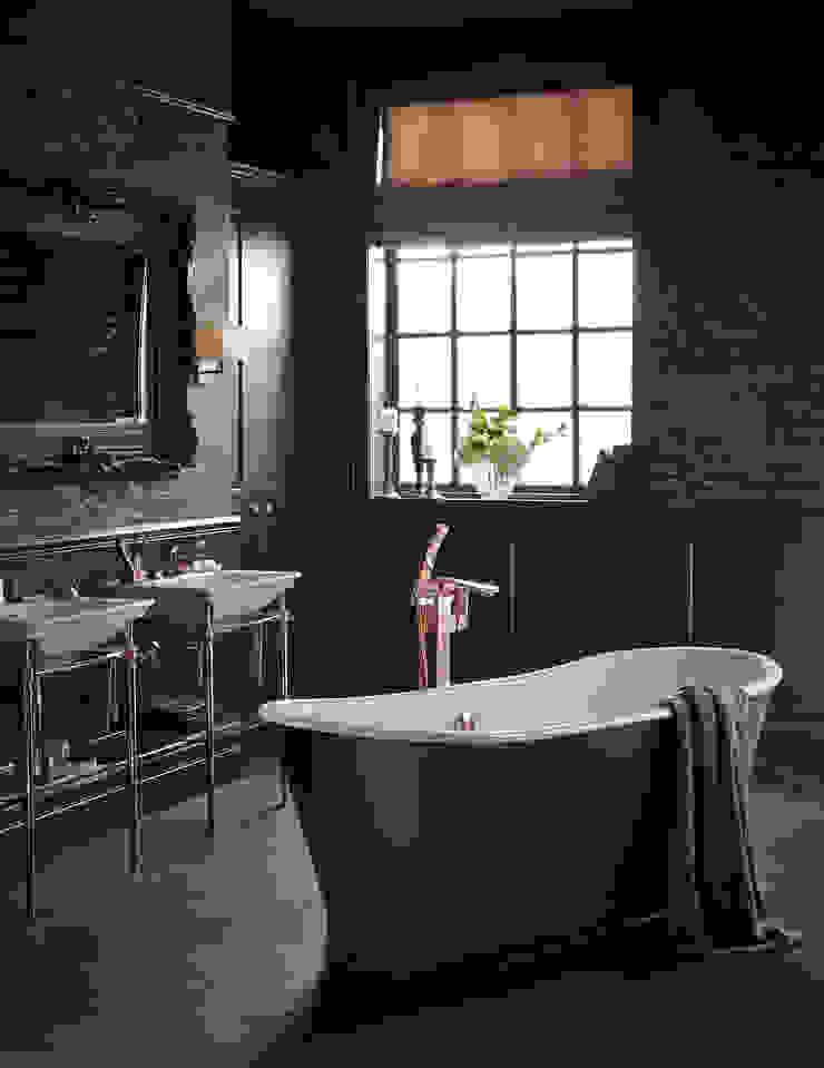 Madeira cast iron bath Classic style bathroom by Heritage Bathrooms Classic