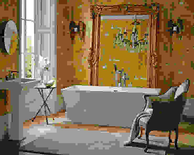 Penrose freestanding acrylic bath:  Bathroom by Heritage Bathrooms, Classic