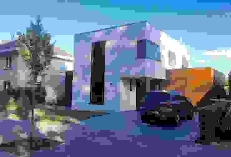 Nico Dekker Ontwerp & Bouwkunde Casas estilo moderno: ideas, arquitectura e imágenes Madera Blanco