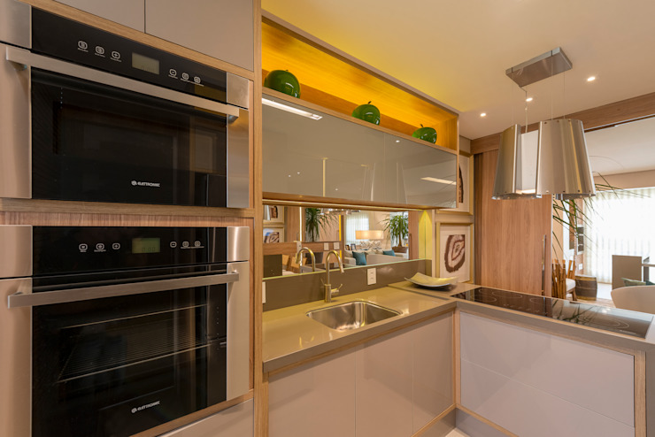 Izilda Moraes Arquitetura ห้องครัว