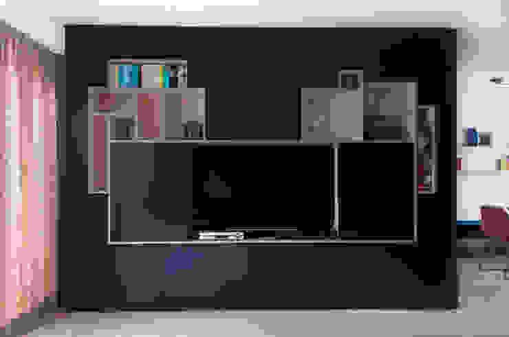 IJzersterk interieurontwerp Living roomTV stands & cabinets
