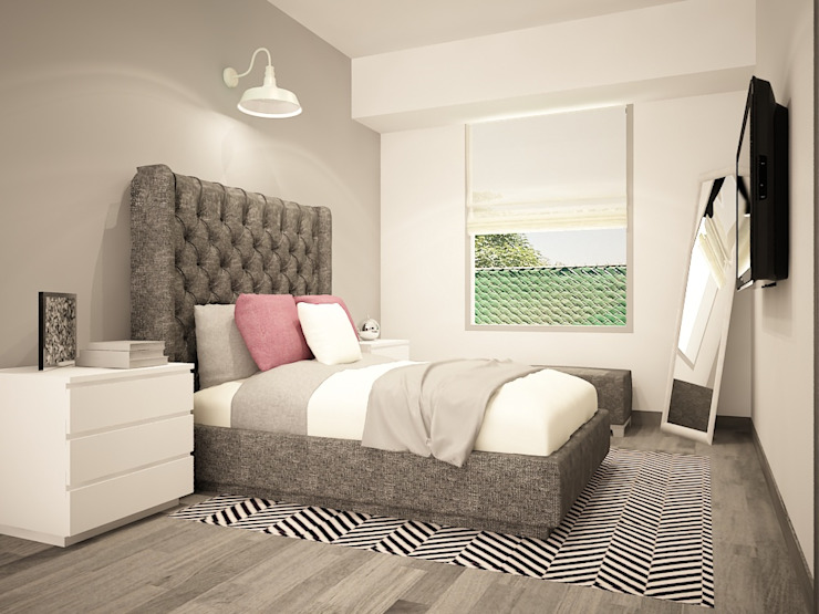Modern style bedroom by Zono Interieur Modern