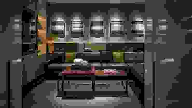 Salas multimedia de estilo moderno de (주)기성마루 Moderno