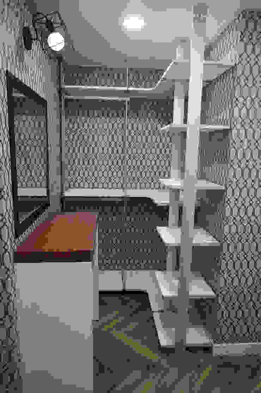 양산 상가 신축주택 리모델링 모던스타일 드레싱 룸 by 빅터인디자인그룹 모던