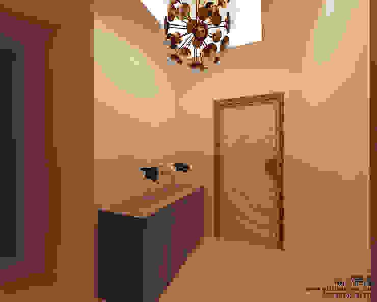 Bishnoi's Residence Modern corridor, hallway & stairs by Pixilo Design Modern