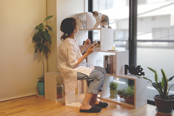 NYAND SHELF <ROOT> - Furniture for Cats and Humans - de &lodge inc. / 株式会社アンドロッジ Moderno