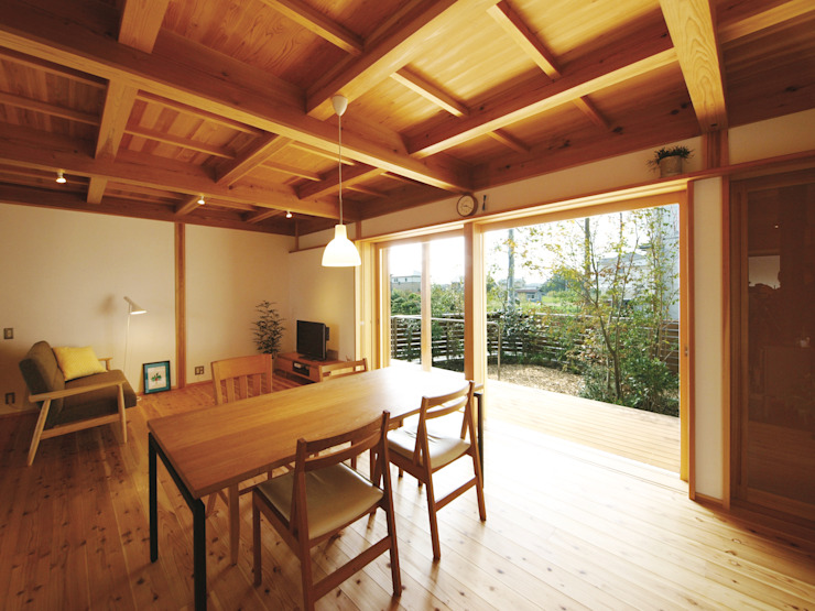 من 岸井設計室 إنتقائي خشب Wood effect