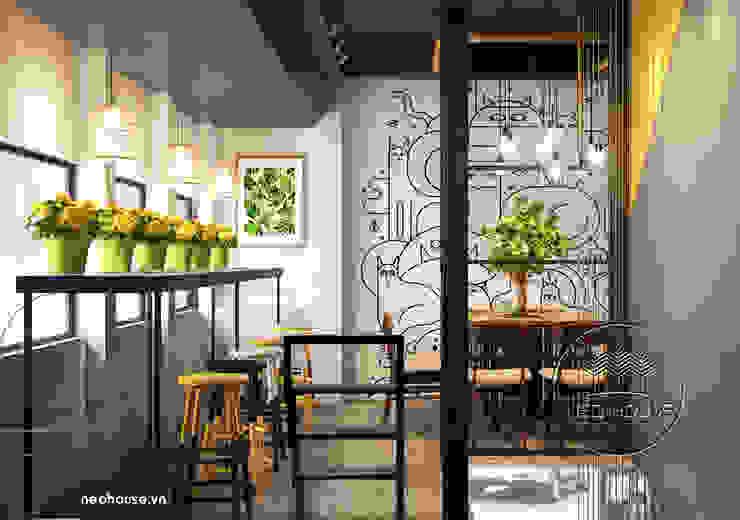 Thiết kế nội thất quán trà sữa bởi NEOhouse Architecture Construction Joint Stock Company