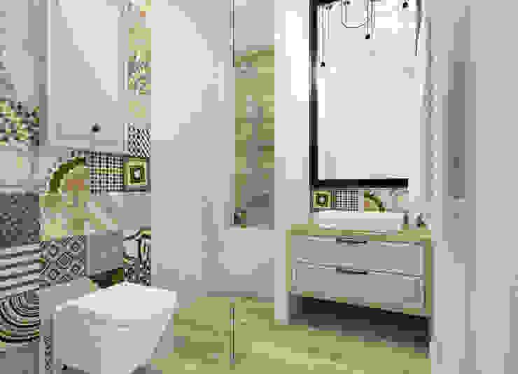 Scandinavian style bathroom by Esteti Design Scandinavian Wood Wood effect