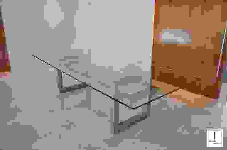 DIANA - Mesa de vidrio moderna de GONZALO DE SALAS Moderno