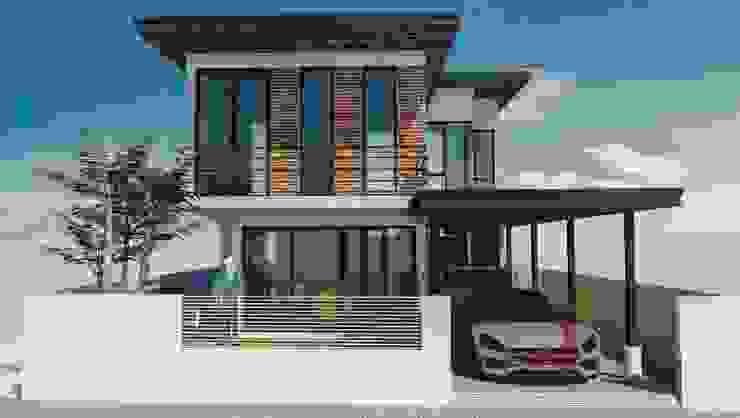 Dj Earth House: ที่เรียบง่าย  โดย iamarchitex, มินิมัล