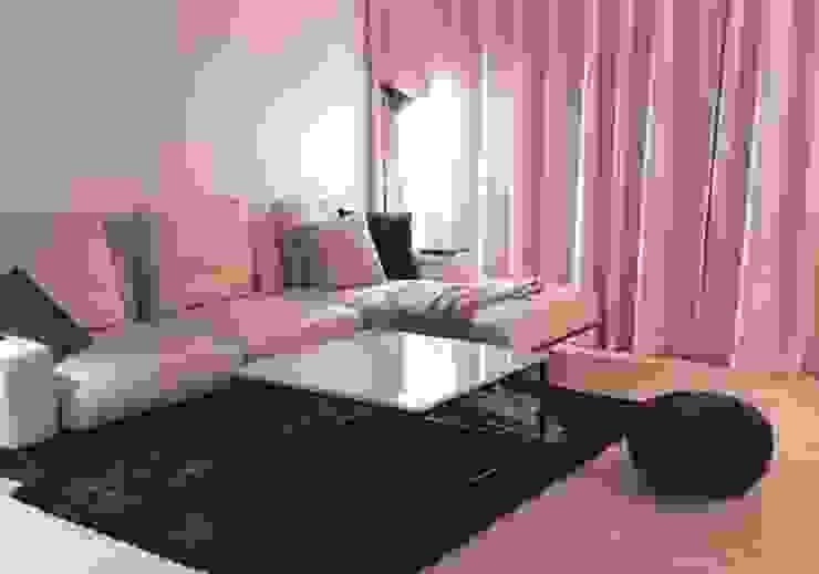 큐브형 블랙스틸 거실 테이블-비앙코카라라-900x900,H400mm 모던스타일 거실 by MARBLEHOLIC 모던