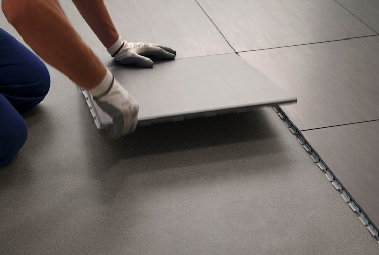 ARTEFECT Corridor, hallway & stairs Accessories & decoration Tiles Grey