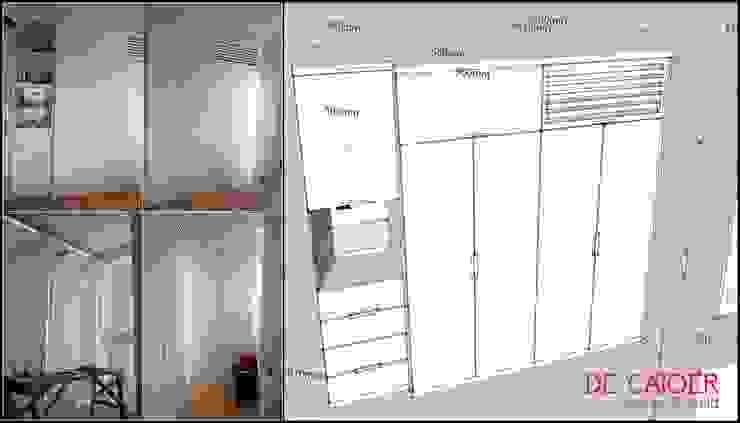 Wardrobe / Lemari pakaian Oleh De' Catoer design & build Minimalis Kayu Lapis