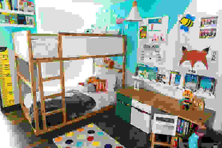 Cuarto de Sofia y Matias Habitaciones para niños de estilo moderno de Little One Moderno