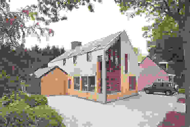 Schuurwoning te Riel van Vermeer Architecten b.v. Landelijk