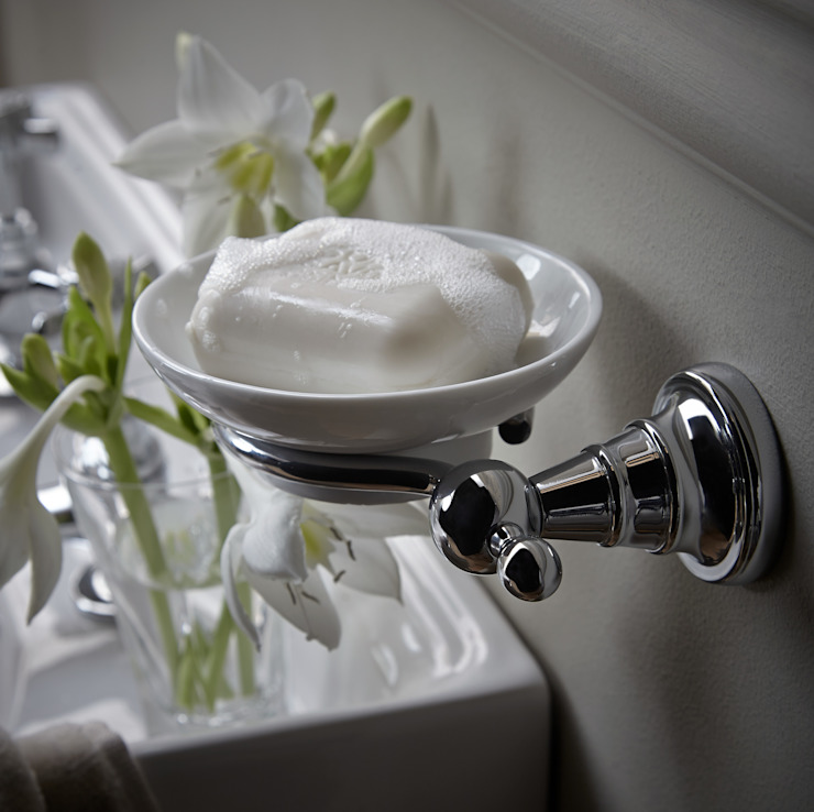 Holborn soap dish Classic style bathroom by Heritage Bathrooms Classic