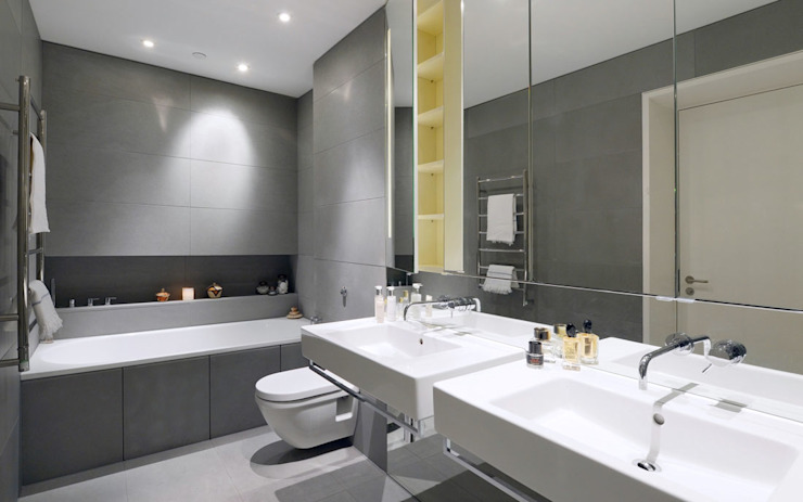 Bathroom Minimalist style bathrooms by Graham D Holland Minimalist