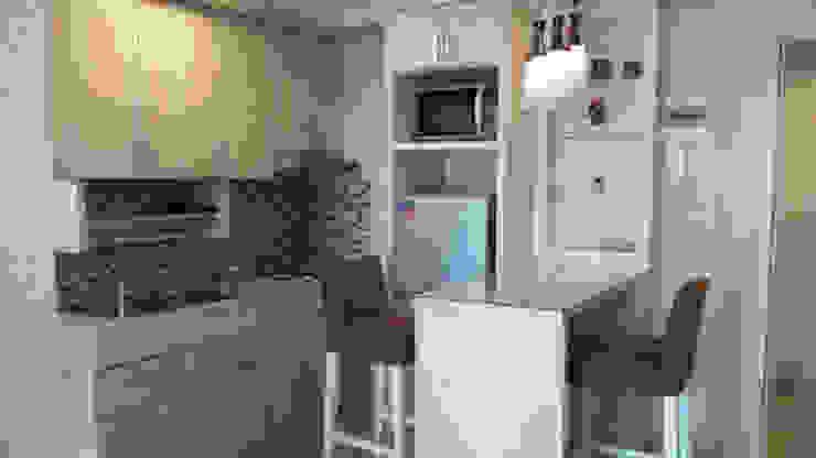 Kitchen Set Apartemen Kalibata City:modern  oleh CV TRIDAYA INTERIOR, Modern