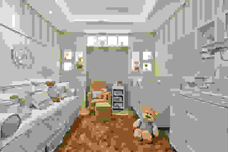 Quarto menino KIDS Arquitetura para pequenos Quarto infantil moderno Azul