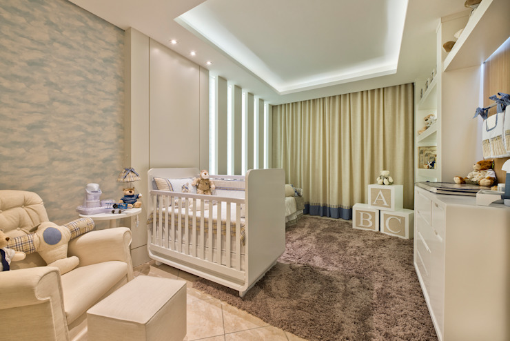 Детская комната в стиле модерн от KIDS Arquitetura para pequenos Модерн
