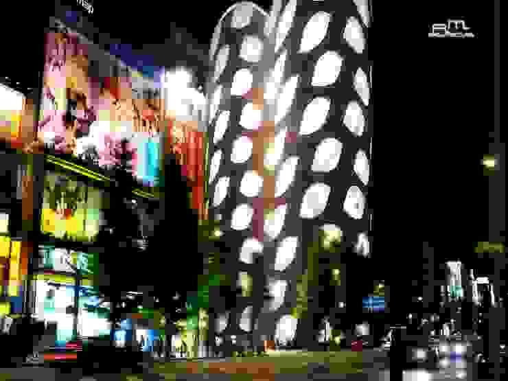 MBN JAPÓN RM ARQUITECTURA Estudios y despachos modernos Aluminio/Cinc Blanco