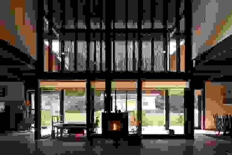 鎌倉市G邸 和風デザインの リビング の 株式会社 鎌倉設計工房 和風 木 木目調