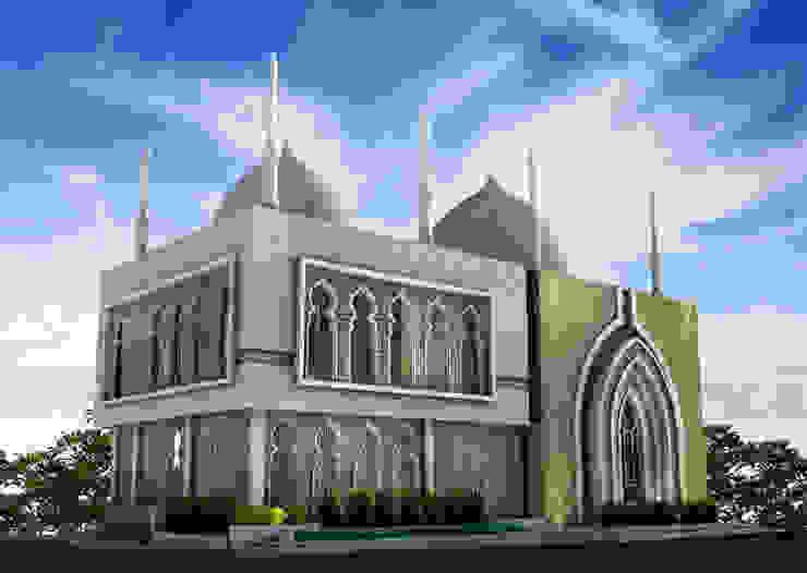 Masjid Kontemporer Modern ala Timur Tengah Oleh zoelsitektur